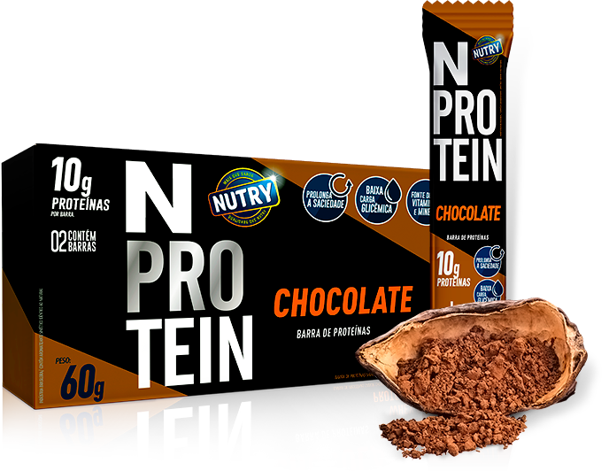 N-Protein de Chocolate - NUTRY