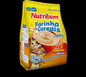 Produto Nutribom Mingau de Farinha de Cereais