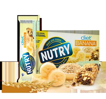 Barra de Cereal de Banana Diet