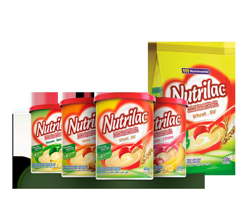 Exportação Nutrilac