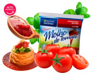 MOLHO DE TOMATE NUTRIMENTAL FOOD SERVICE
