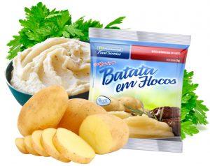 BATATA EM FLOCOS NUTRIMENTAL FOOD SERVICE