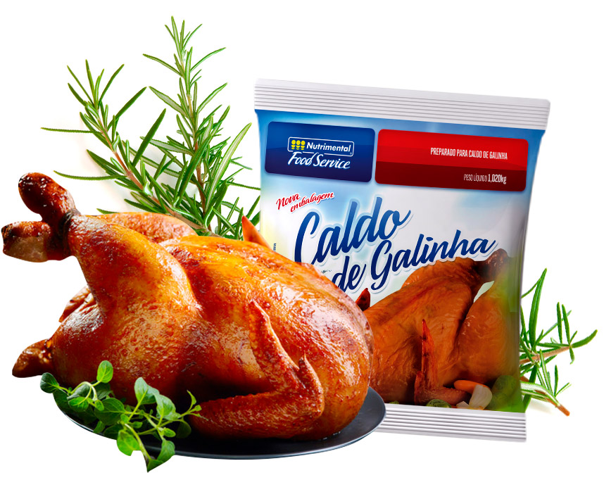 CALDO DE GALINHA NUTRIMENTAL FOOD SERVICE