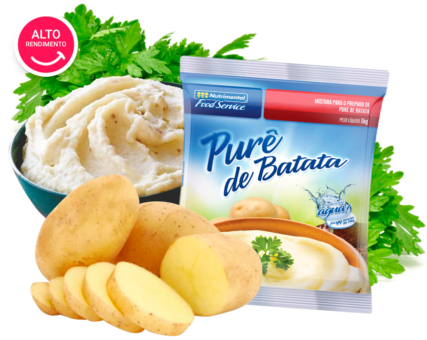 PURE DE BATATA NUTRIMENTAL FOOD SERVICE