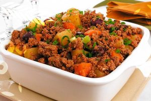 Carne Moída com Vegetais - Receitas Food Ingredients