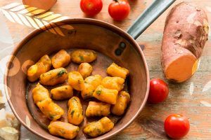 Nhoque de batata doce - Receitas Food Ingredients