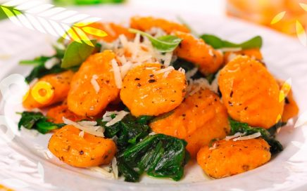 Nhoque de Cenoura - Receitas Food Ingredientes