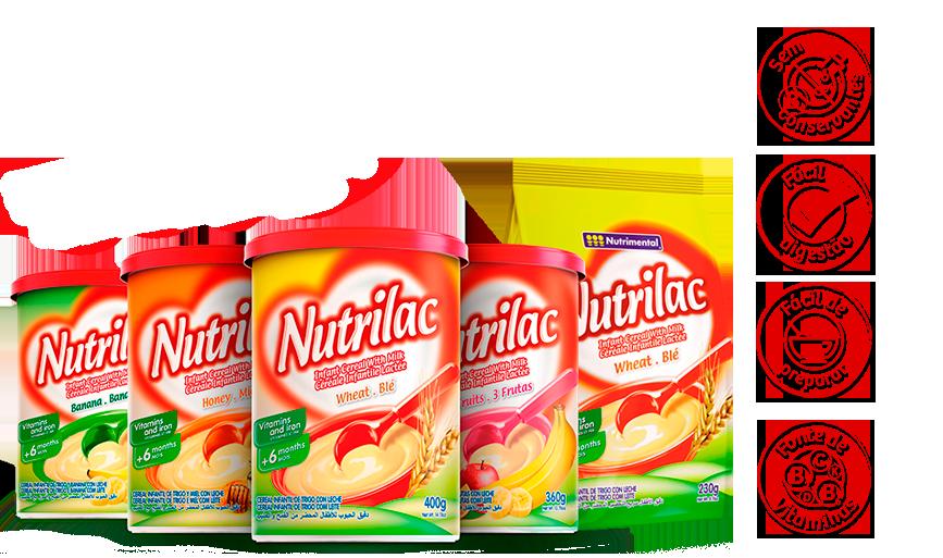 Exportação Nutrilac - Nutrimental