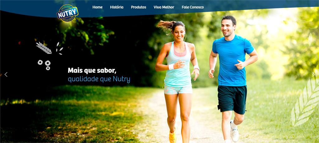 site da nutry fotos de pessoas correndo e mantenho vida saudavel