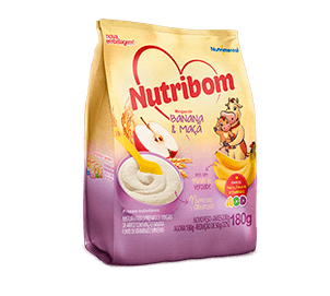 Nutrilon - Mingau Banana e Maçã