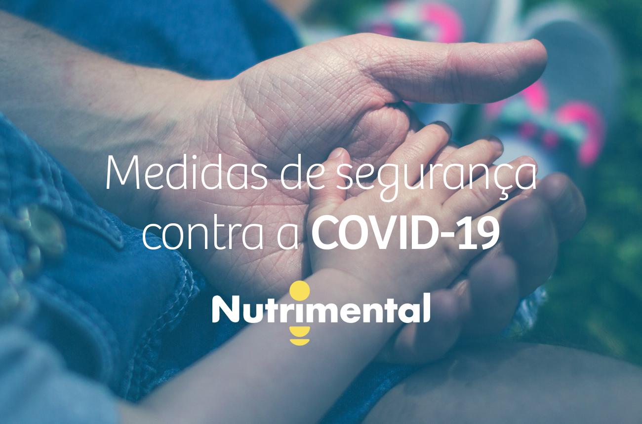 Medidas de segurança contra o Covid-19