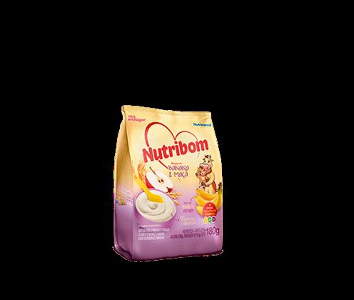 Nutribom - Mingau Banana e Maçã