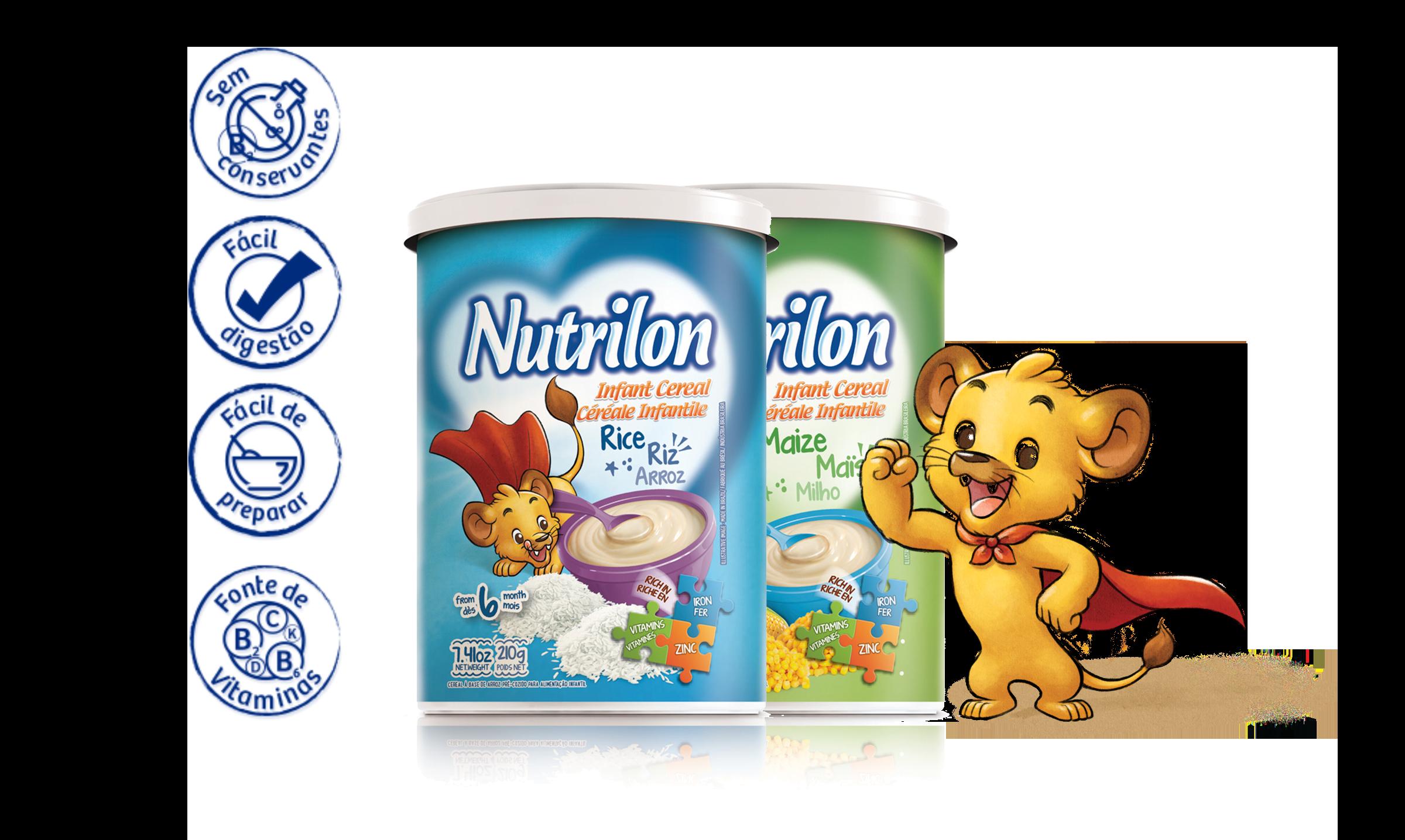 Exportação Nutrilon - Nutrimental